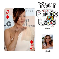 Jack Kate Playing Cards By Karen   Playing Cards 54 Designs   C9joovjddwhq   Www Artscow Com Front - DiamondJ