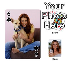 Kate Playing Cards By Karen   Playing Cards 54 Designs   C9joovjddwhq   Www Artscow Com Front - Club6
