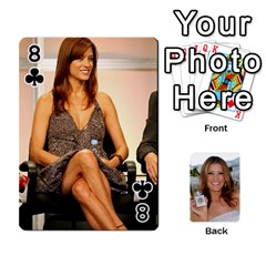Kate Playing Cards By Karen   Playing Cards 54 Designs   C9joovjddwhq   Www Artscow Com Front - Club8
