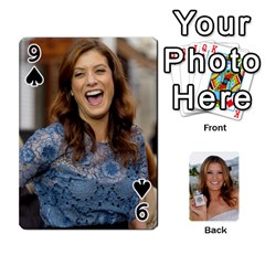 Kate Playing Cards By Karen   Playing Cards 54 Designs   C9joovjddwhq   Www Artscow Com Front - Spade9