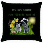 Kissen-Emma - Throw Pillow Case (Black)