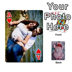 Ace Ava By Amy   Playing Cards 54 Designs   Ph98qa6j77da   Www Artscow Com Front - HeartA