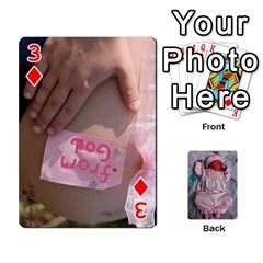 Ava By Amy   Playing Cards 54 Designs   Ph98qa6j77da   Www Artscow Com Front - Diamond3