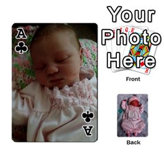 Ace Ava By Amy   Playing Cards 54 Designs   Ph98qa6j77da   Www Artscow Com Front - ClubA