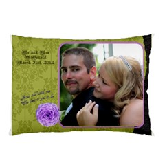 Wedding Pillow By Patricia W   Pillow Case (two Sides)   47o5d4oa9s2i   Www Artscow Com Front