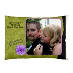 wedding pillow - Pillow Case (Two Sides)