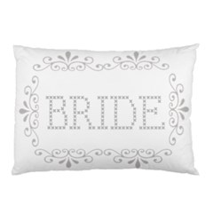 Bride Pillow Case By Kim Blair   Pillow Case (two Sides)   4io1uyvealjt   Www Artscow Com Front