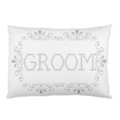 Groom Pillow case by Kim Blair Front