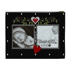 Double Framed Xl Cosmetic Case By Lil    Cosmetic Bag (xl)   Xxes3p4qzmz4   Www Artscow Com Back