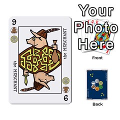 The Decktet   Blue Back By John   Playing Cards 54 Designs   2gfrbbyrv8sc   Www Artscow Com Front - Heart4
