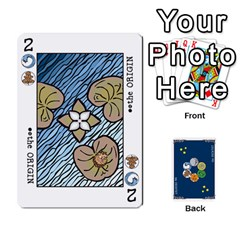 Jack The Decktet   Blue Back By John   Playing Cards 54 Designs   2gfrbbyrv8sc   Www Artscow Com Front - DiamondJ