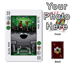 The Decktet   Red Back By John   Playing Cards 54 Designs   Oita1lgwpzp4   Www Artscow Com Front - Spade3