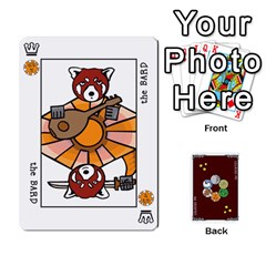 The Decktet   Red Back By John   Playing Cards 54 Designs   Oita1lgwpzp4   Www Artscow Com Front - Heart3