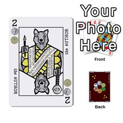 King The Decktet   Red Back By John   Playing Cards 54 Designs   Oita1lgwpzp4   Www Artscow Com Front - DiamondK