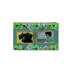 My Family Cosmetic Bag (small) By Deborah   Cosmetic Bag (small)   2waux89qusaw   Www Artscow Com Back