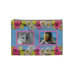 Little Princess Cosmetic Bag (medium) By Deborah   Cosmetic Bag (medium)   67atk5bb41ec   Www Artscow Com Front