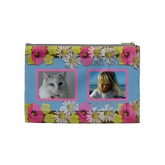 Little Princess Cosmetic Bag (medium) By Deborah   Cosmetic Bag (medium)   67atk5bb41ec   Www Artscow Com Back