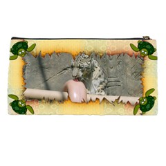Torn Edges Snake And Turtle Pencil Case By Kim Blair   Pencil Case   J1iwym3myyg4   Www Artscow Com Back