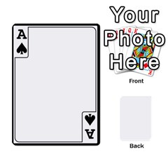 Ace Card Border   54 Designs By K Kaze   Playing Cards 54 Designs   Op6mkuq9izam   Www Artscow Com Front - SpadeA