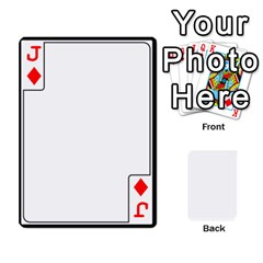 Jack Card Border   54 Designs By K Kaze   Playing Cards 54 Designs   Op6mkuq9izam   Www Artscow Com Front - DiamondJ