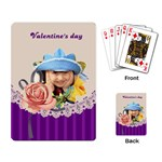 valentine s day - Playing Cards Single Design