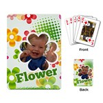 flower - Playing Cards Single Design