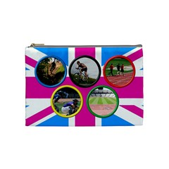 The Games Cosmetic Bag (medium) By Deborah   Cosmetic Bag (medium)   Xiehoqh0peq8   Www Artscow Com Front