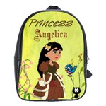 Princess Book Bag large - School Bag (Large)