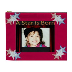 A Star Is Born Xl Cosmetic Bag By Kim Blair   Cosmetic Bag (xl)   R75wqf2mbbi0   Www Artscow Com Front