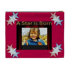 A Star Is Born Xl Cosmetic Bag By Kim Blair   Cosmetic Bag (xl)   R75wqf2mbbi0   Www Artscow Com Back