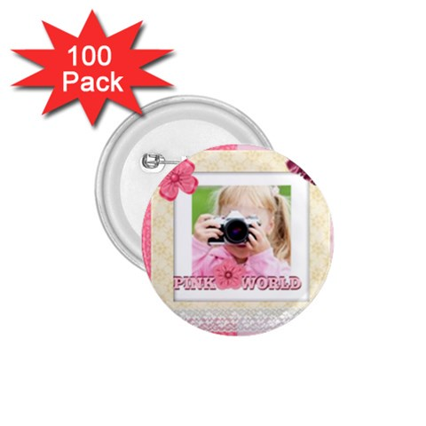 Kids By Joely   1 75  Button (100 Pack)    B5pg81jheddb   Www Artscow Com Front