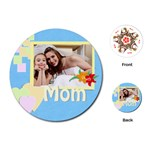 mom - Playing Cards (Round)