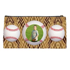 Baseball Pencil Case By Kim Blair   Pencil Case   B0bdurs59h3v   Www Artscow Com Back