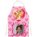Puppy and kitten Hugs Full print Apron