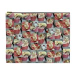 Cute Cat XLarge Cosmetic Case - Cosmetic Bag (XL)