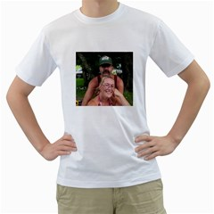 Christine N Boyfriend By Shelleyww42 Gmail Com   Men s T Shirt (white) (two Sided)   Qzlk9klpu8ic   Www Artscow Com Front