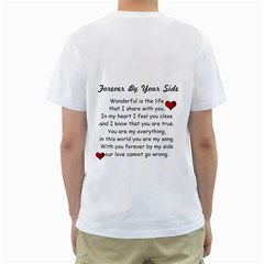 Christine N Boyfriend By Shelleyww42 Gmail Com   Men s T Shirt (white) (two Sided)   Qzlk9klpu8ic   Www Artscow Com Back