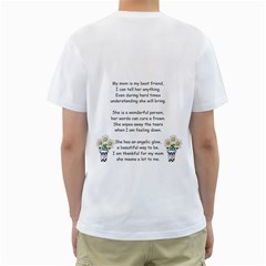 Christine Mom By Shelley Williams   Men s T Shirt (white) (two Sided)   Debgcetnypdb   Www Artscow Com Back