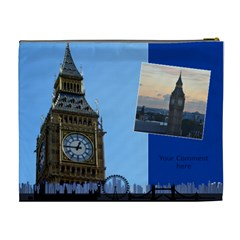 My London Cosmetic Bag 2 (xl) By Deborah   Cosmetic Bag (xl)   369olrywtnq8   Www Artscow Com Back