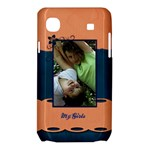 orange blue nexus case - Samsung Galaxy SL i9003 Hardshell Case