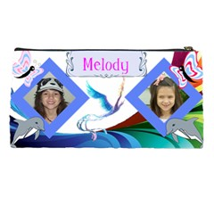 Melody By Kim Blair   Pencil Case   X7qv90tdniwb   Www Artscow Com Back