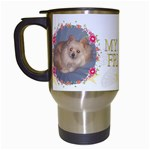 My Best Friend Travel Mug - Travel Mug (White)