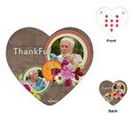 thank you - Playing Cards (Heart)