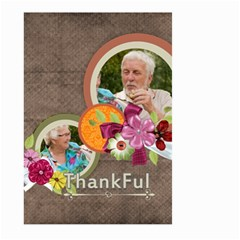 Thank You By Joely   Large Garden Flag (two Sides)   Neiyp374jwb9   Www Artscow Com Front