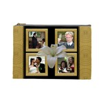Our Wedding Anniversary Cosmetic Bag (Large)
