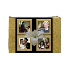 Our Wedding Anniversary Cosmetic Bag (Large) by Deborah Back