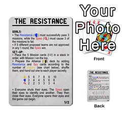 Resistance 2 0 By Scott Huntington   Multi Purpose Cards (rectangle)   1fjdd13o2u61   Www Artscow Com Front 54