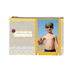 Summer By Joely   Cosmetic Bag (large)   Ldf96brv3a0i   Www Artscow Com Front