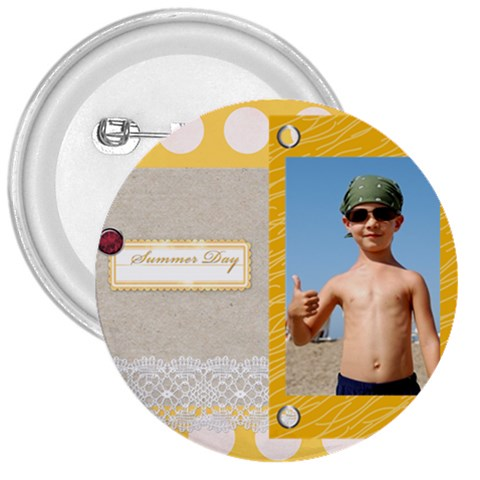 Summer By Joely   3  Button   Twq2jkbf5aro   Www Artscow Com Front