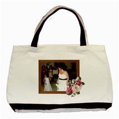Rose And Wood Frame Classic Tote Bag Two Sides By Kim Blair   Basic Tote Bag (two Sides)   2rtzweqfqjam   Www Artscow Com Front